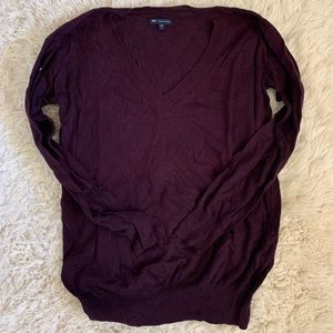Long sleeved sweater, cotton and cashmere